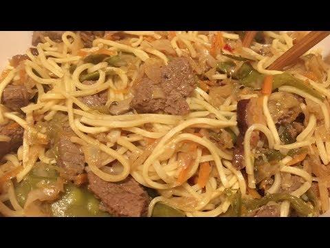 Instant Pot Beef Lo Mein