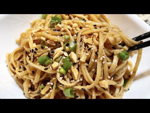 Instant Pot Sesame Peanut Noodles