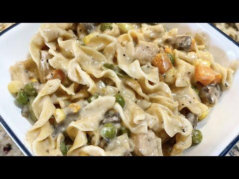 Instant Pot Cockadoodle Noodles (Chicken Noodle Casserole)