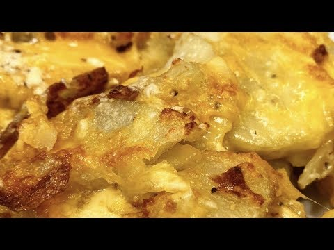 Instant Pot Scalloped Potatoes (with Air Fryer Lid)