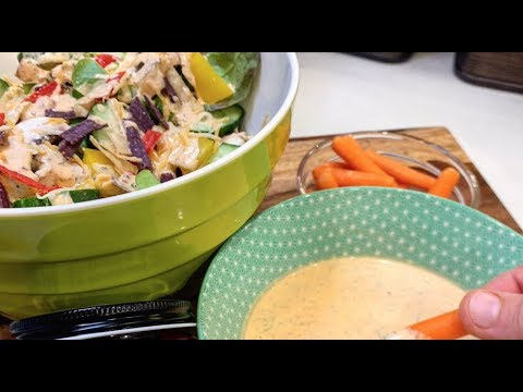 Chili Ranch Salad Dressing with Better Than Bouillon
