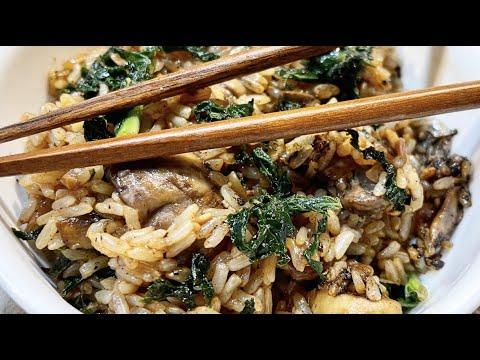 Crispy Kale Rice