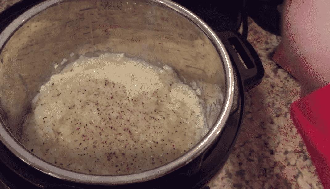 Instant Pot Cauliflower Mash
