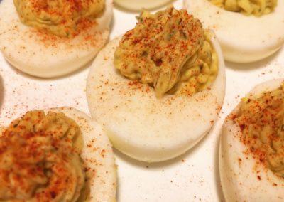 Instant Pot Horseradish Deviled Eggs