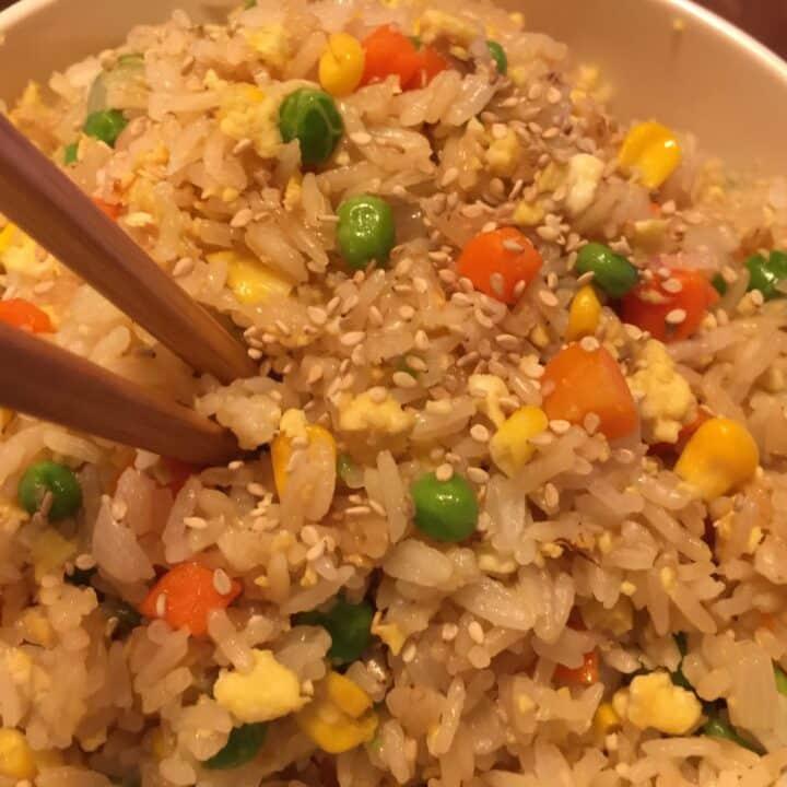 Instant Pot Hibachi Fried Rice
