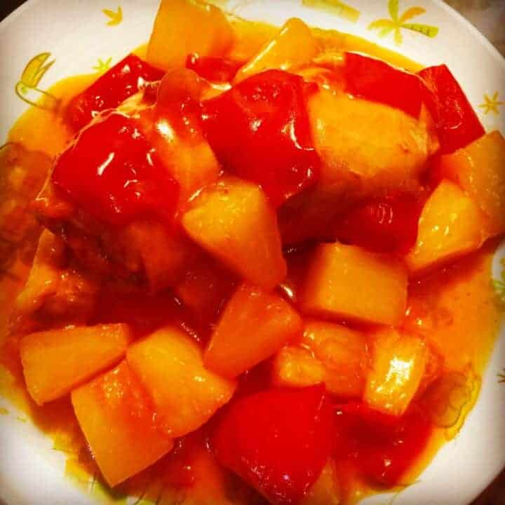 Instant Pot Polynesian Pineapple Chicken