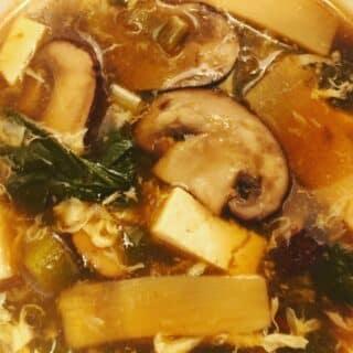 Instant Pot Hot & Sour Soup