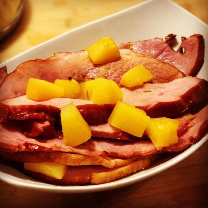 Instant Pot Holiday Honey Ham