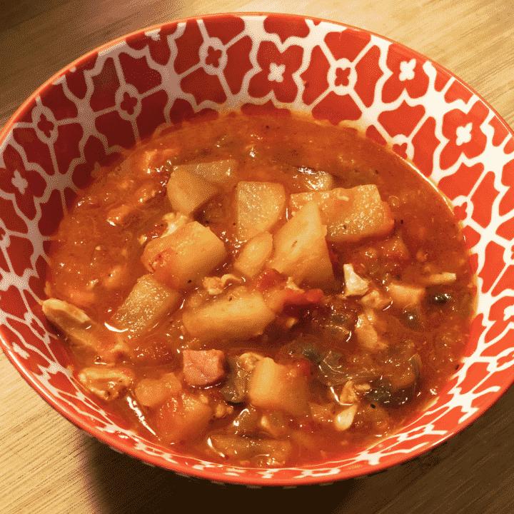 Instant Pot Manhattan Clam Chowder