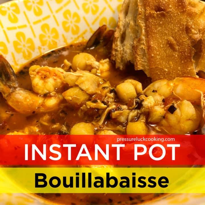 Instant Pot Bouillabaisse (Fish Stew)