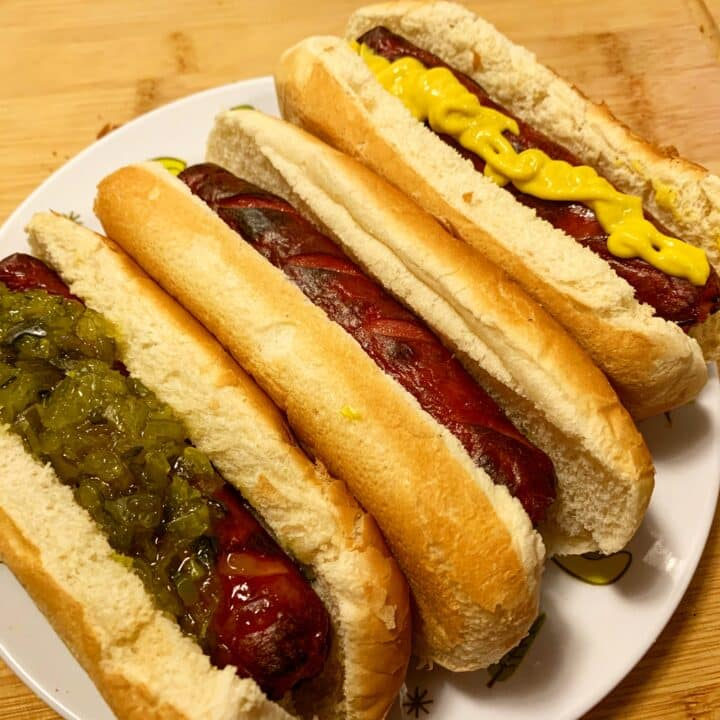 Instant Pot Cheat-Grilled Hot Dogs