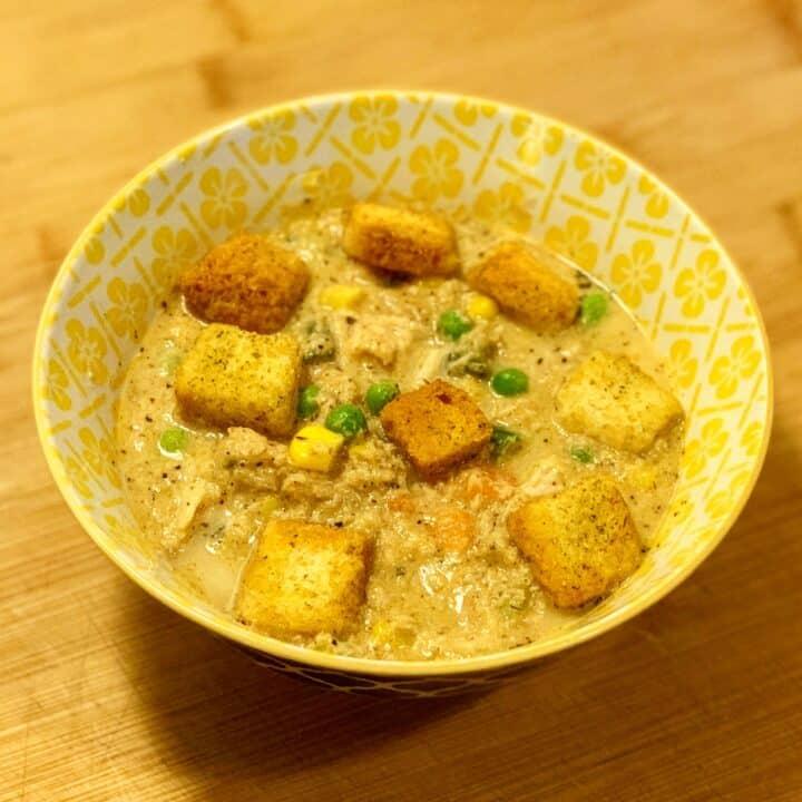 Instant Pot Creamy Turkey Soup