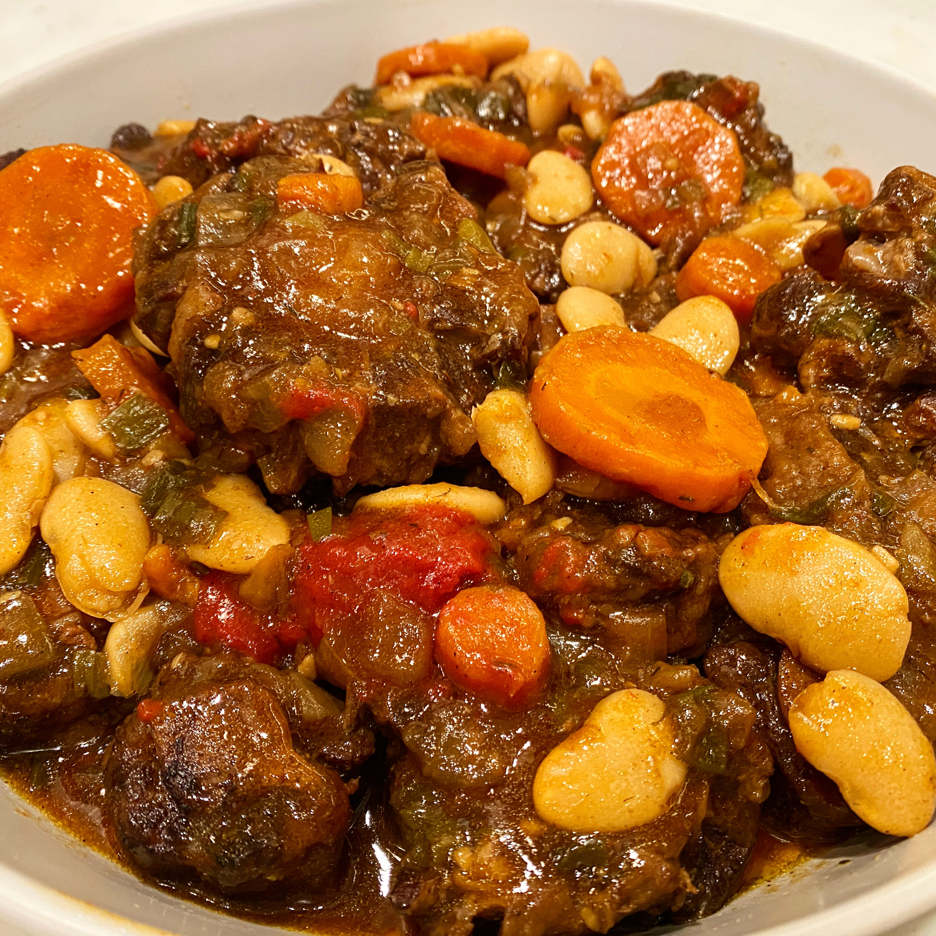 Instant Pot Jamaican Oxtail Stew Pressure Luck Cooking