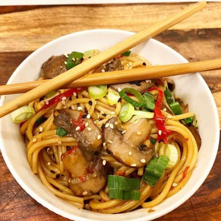 Instant Pot Asian Garlic Noodles