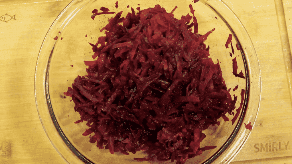Beets grated