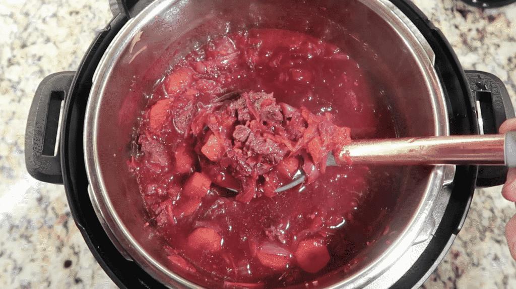Completed Borscht