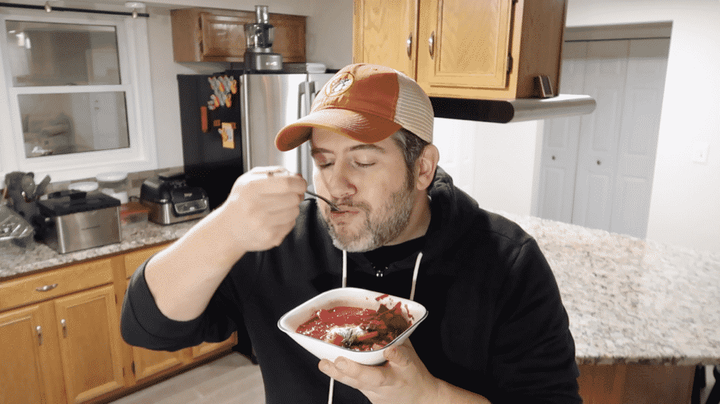 Trying Borscht