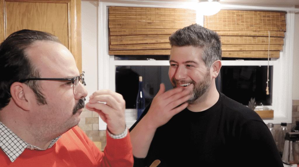 Jeffrey & Richard talking