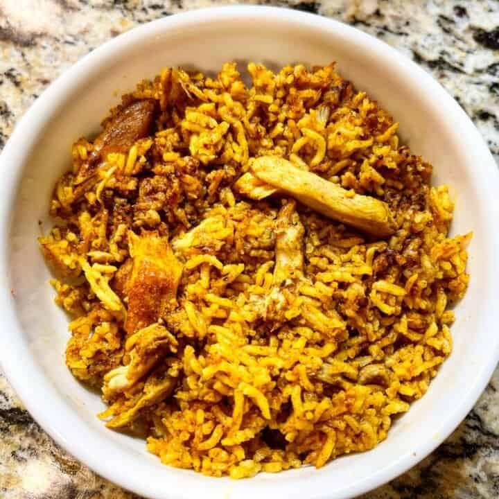 Instant Pot Chicken Shawarma Rice