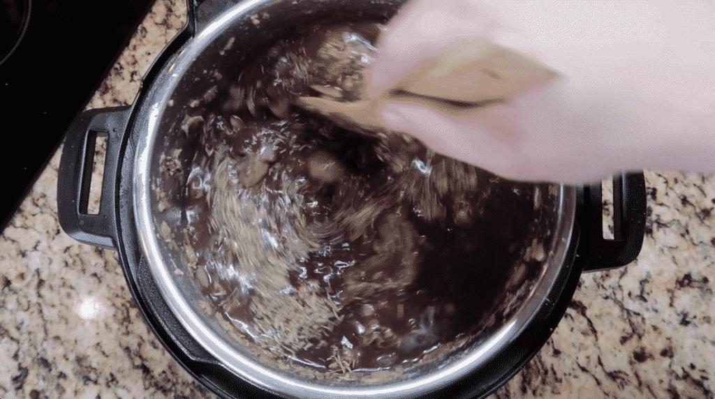Stirring the pot.