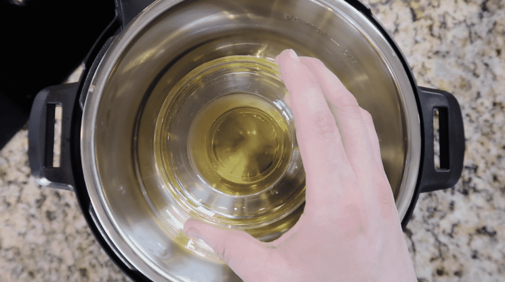 Adding olive oil to Instant Pot