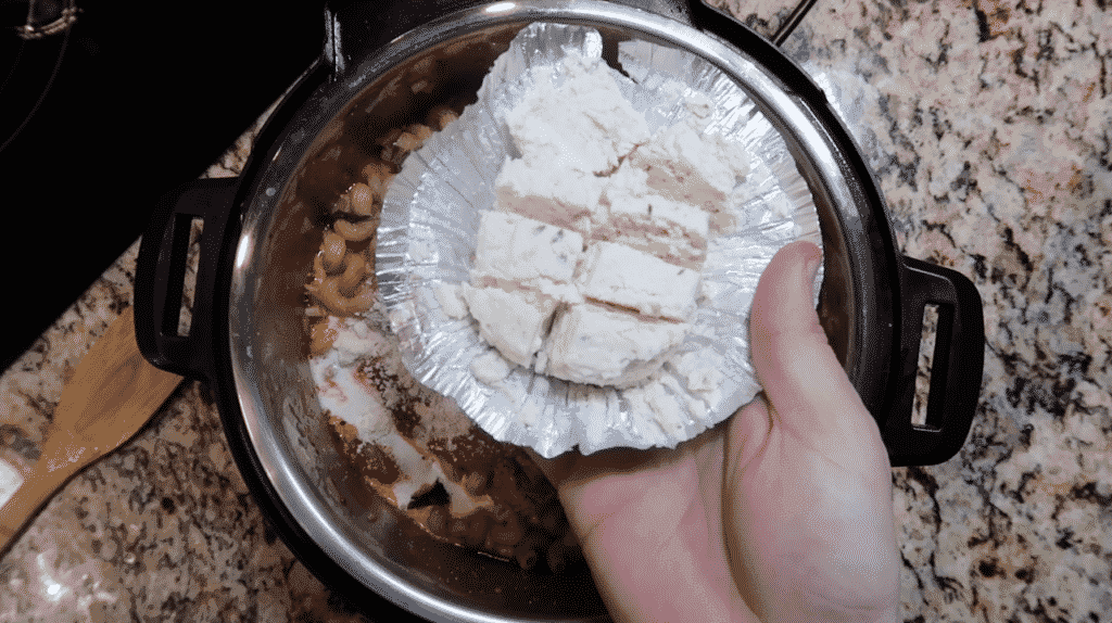 Adding Boursin