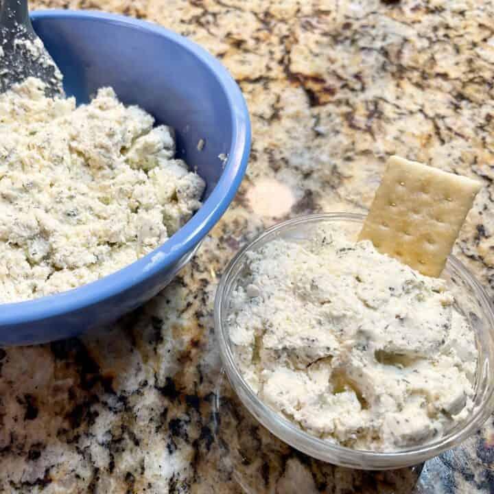 Garlic Herb Cheese (Copycat Boursin) Recipe