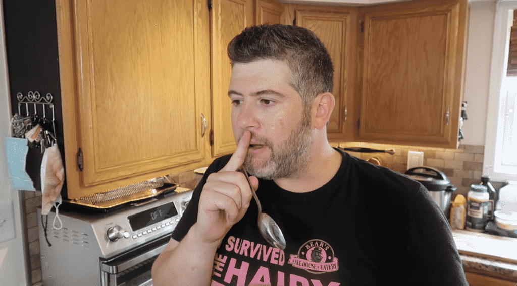 Man stunned by chili