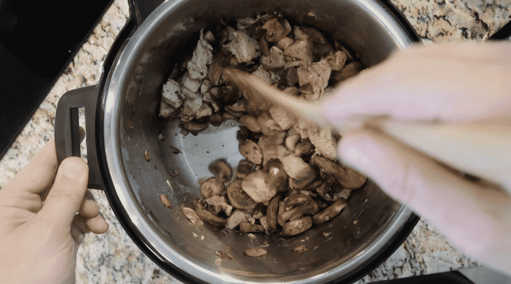 Deglazing pot.