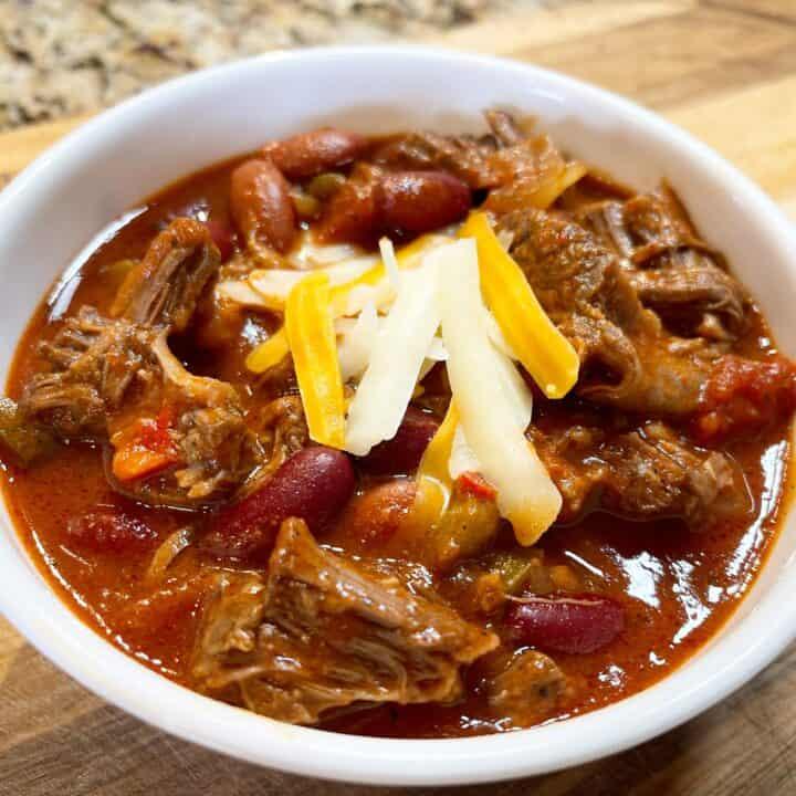 Instant Pot Short Rib Chili